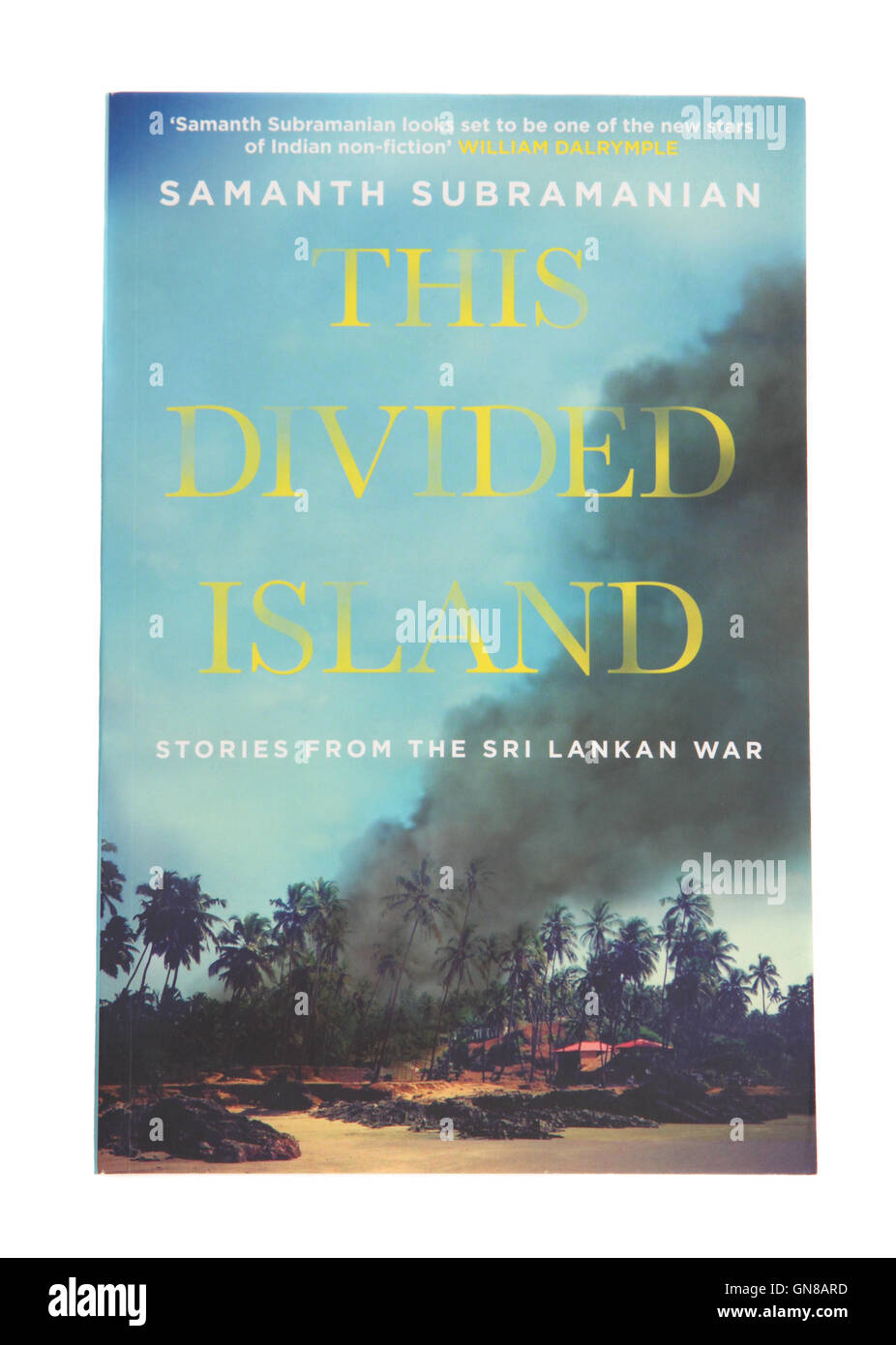 The Divided Island by Samanth Subramanian - Stock Image