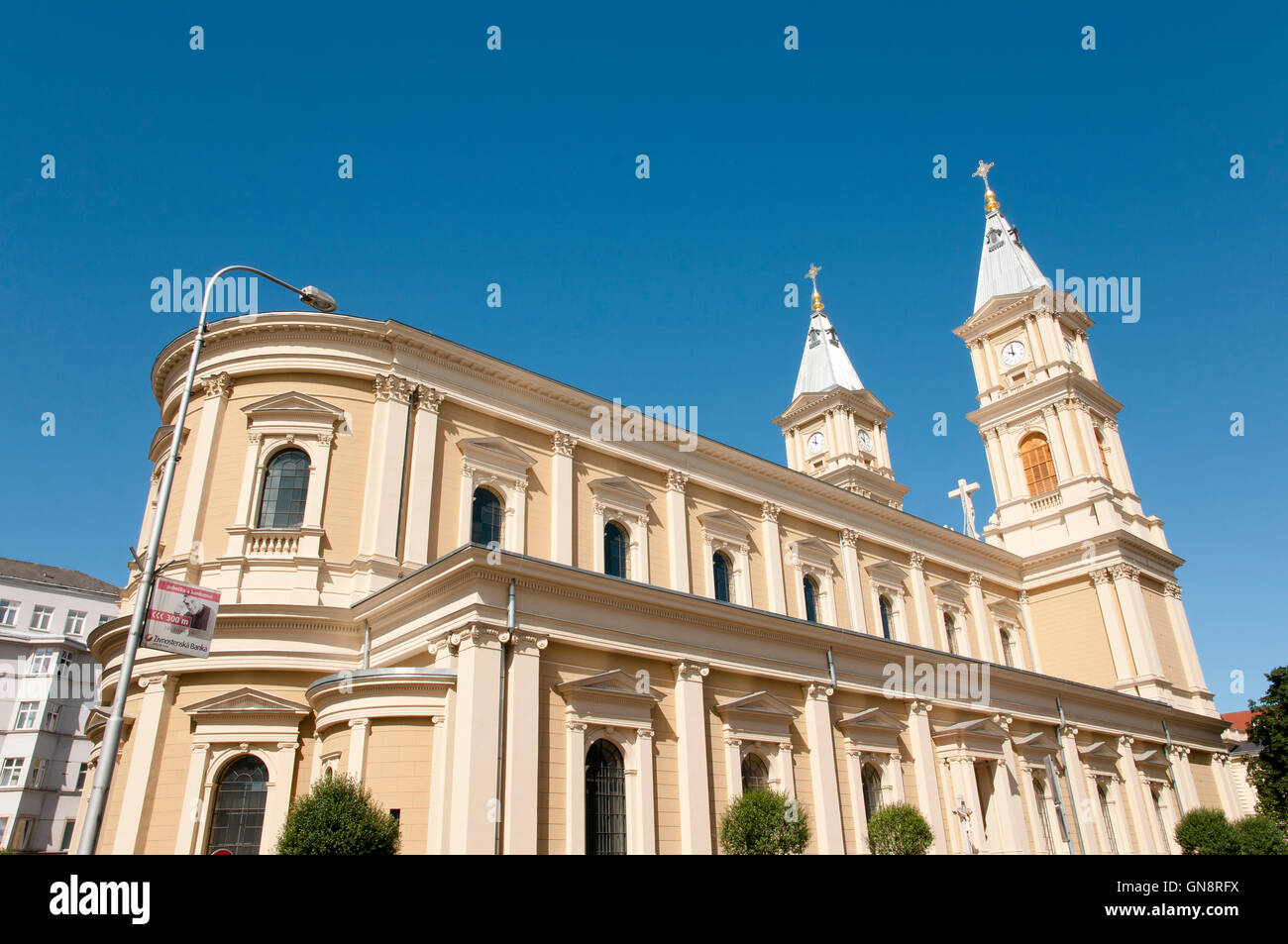 Cathedral of the Divine Saviour - Ostrava - Czech Republic - Stock Image