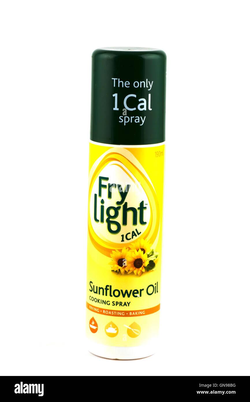 Fry Light Sunflower Oil - Stock Image