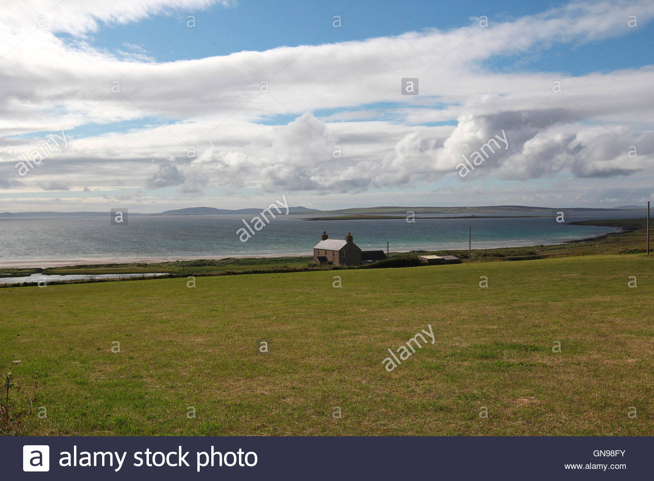 seeview, stronsay, orkney islands, scotland, united kingdom - Stock Image