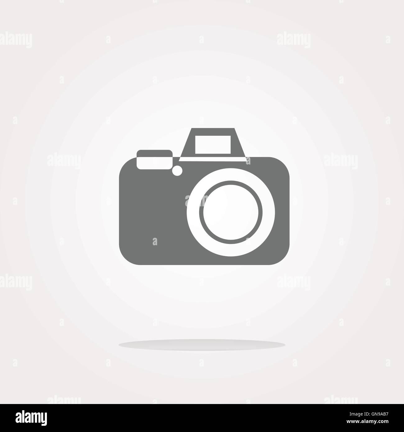 vector camera web icon Stock Vector
