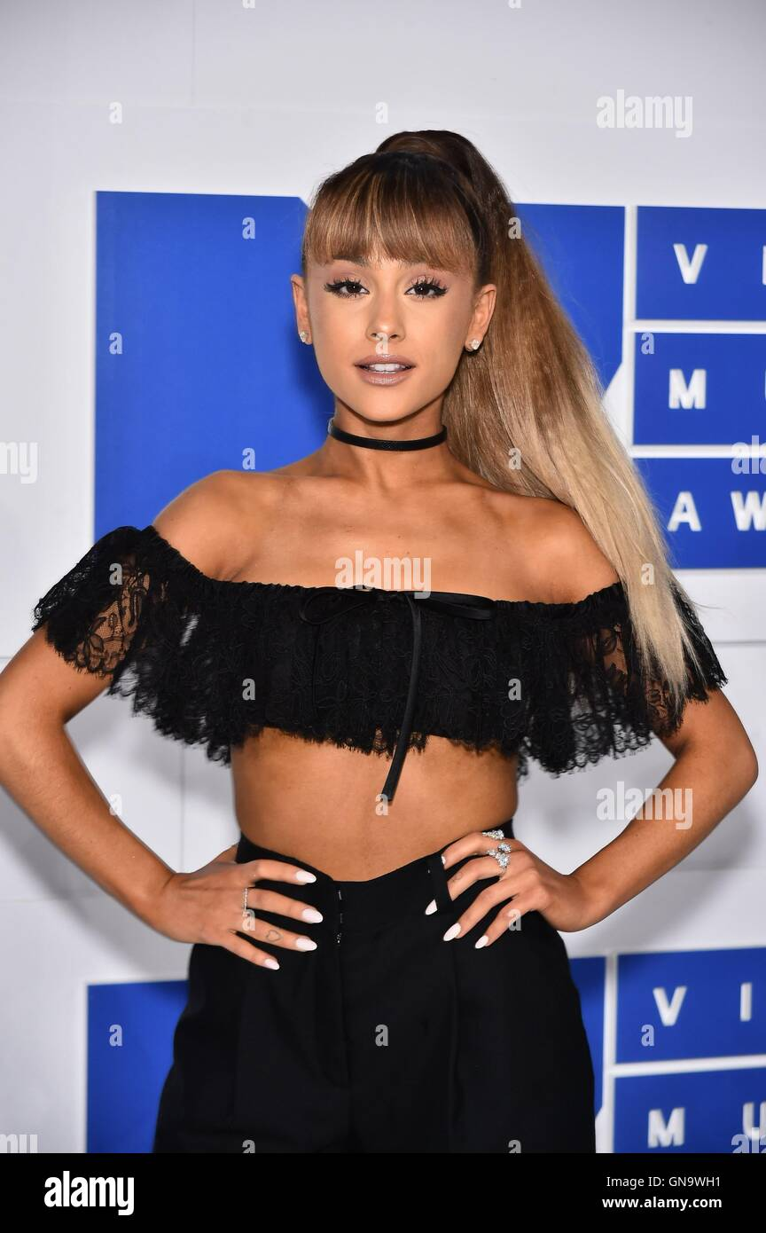Ariana Grande At Arrivals For 2016 MTV Video Music Awards VMAs   Arrivals  4, Madison Square Garden, New York, NY August 28, 2016.