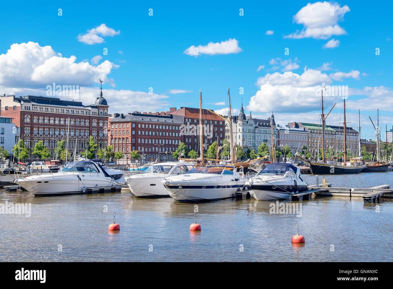 Waterfront of Helsinki. Finland - Stock Image