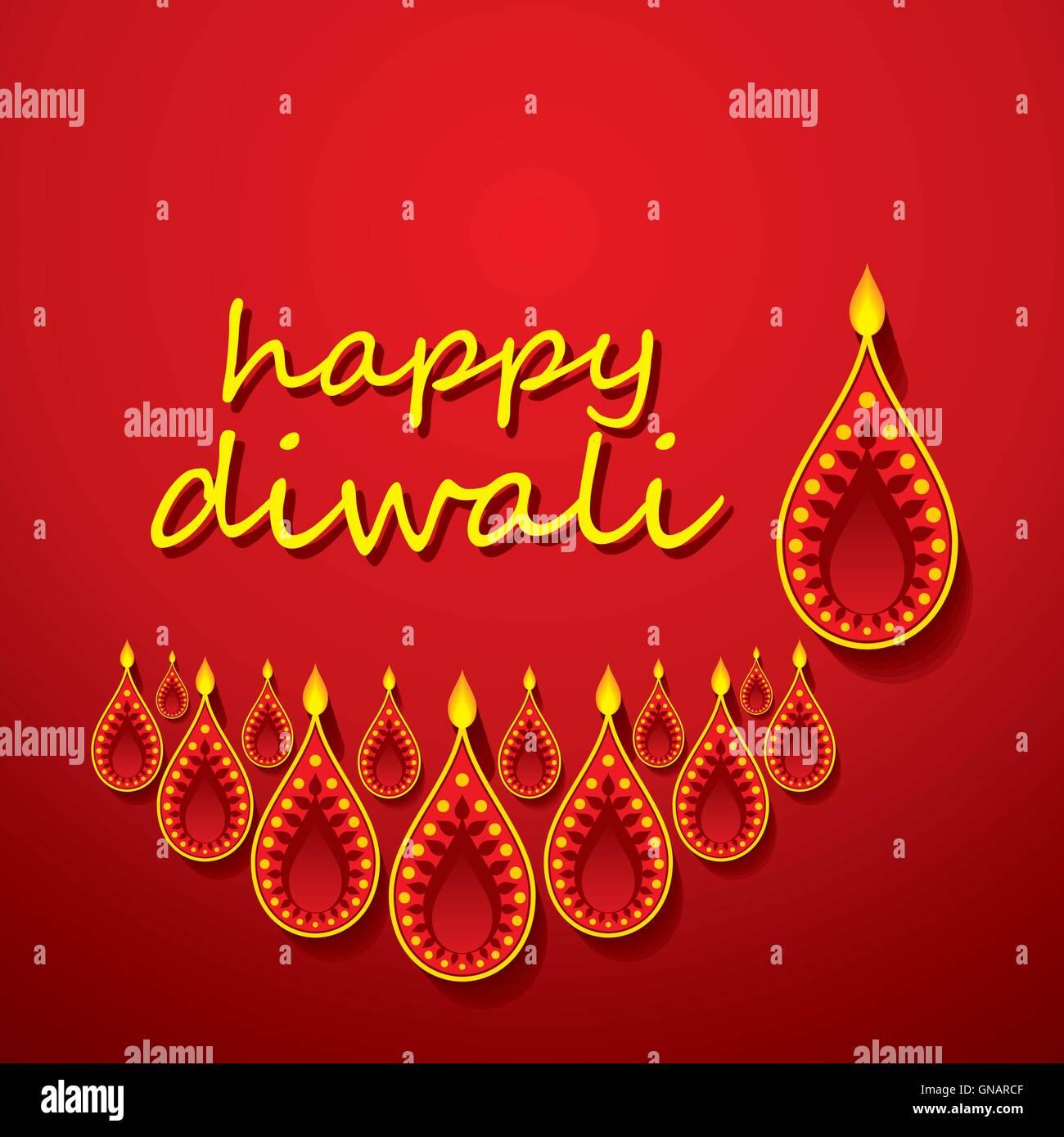 Happy diwali poster or greeting design stock vector art happy diwali poster or greeting design m4hsunfo