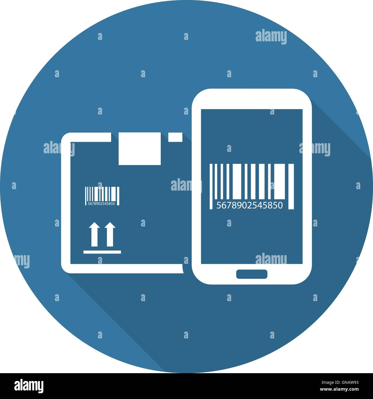mobile tracking services icon flat design stock vector art