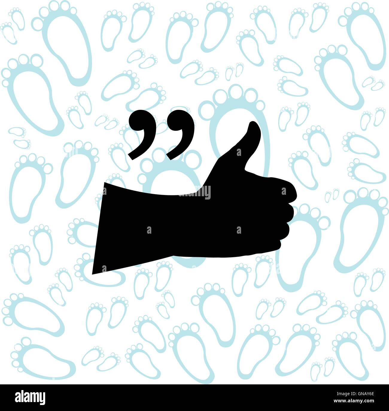quote blank template quote bubble print design quote form stock