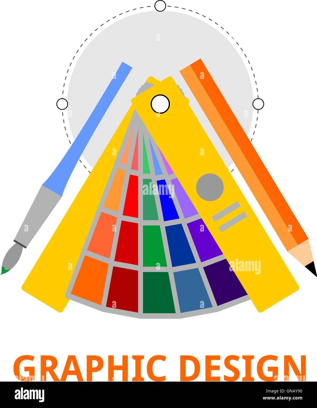 vector - graphic design - Stock Image