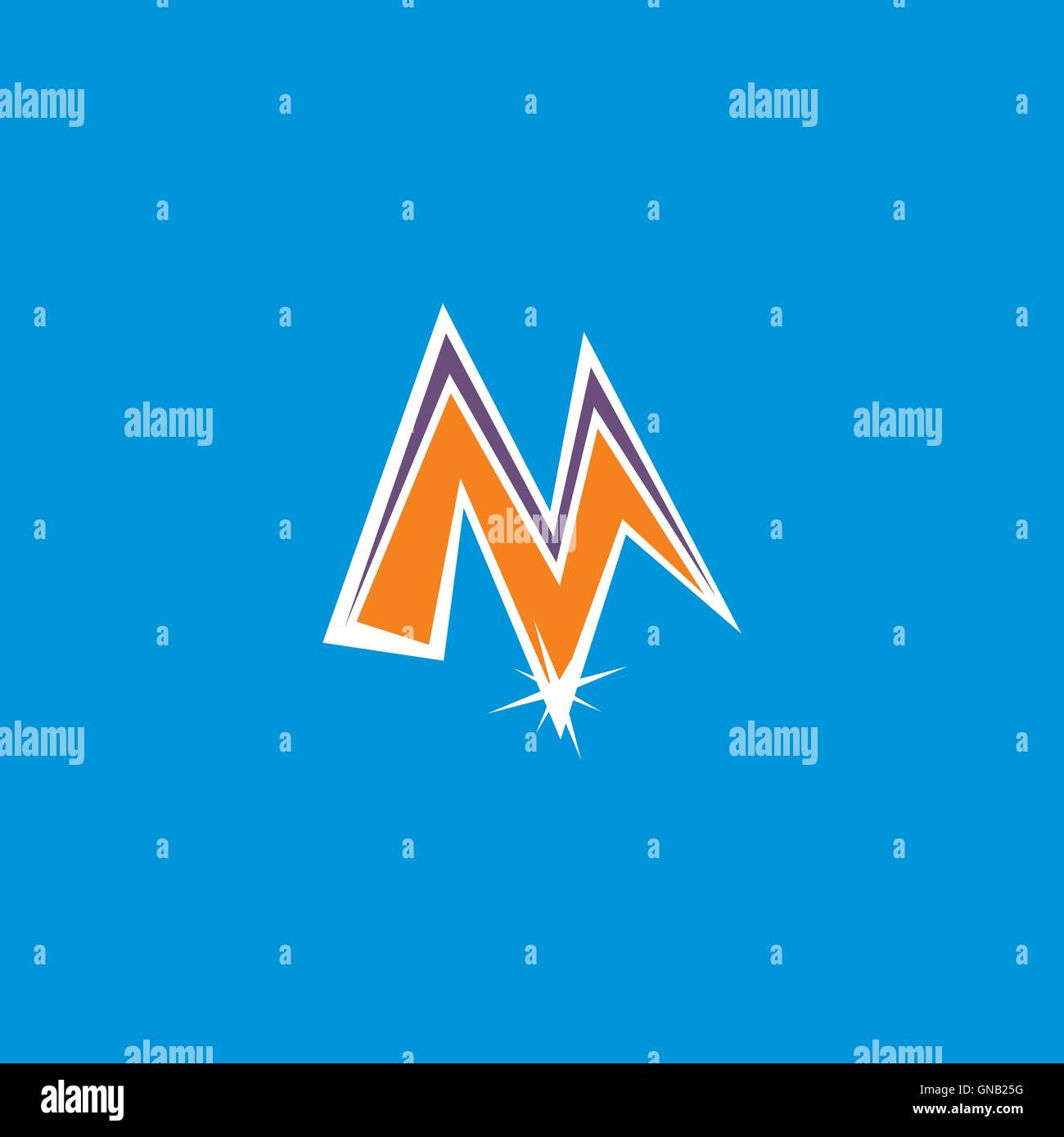 cartoon icon button - Stock Image