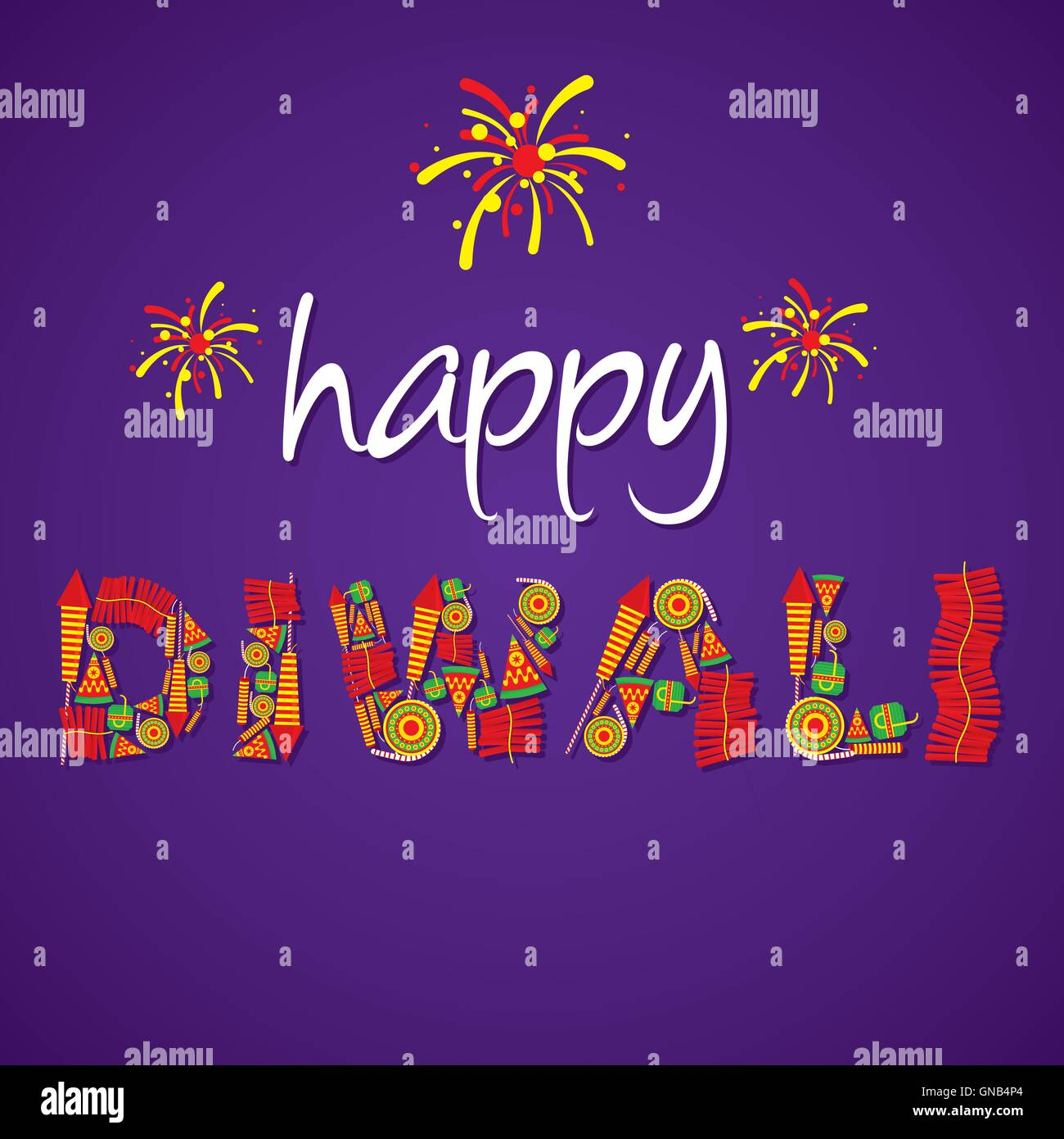 Editable diwali greetings gallery greetings card design simple creative happy diwali greeting design by cracker vector stock vector m4hsunfo