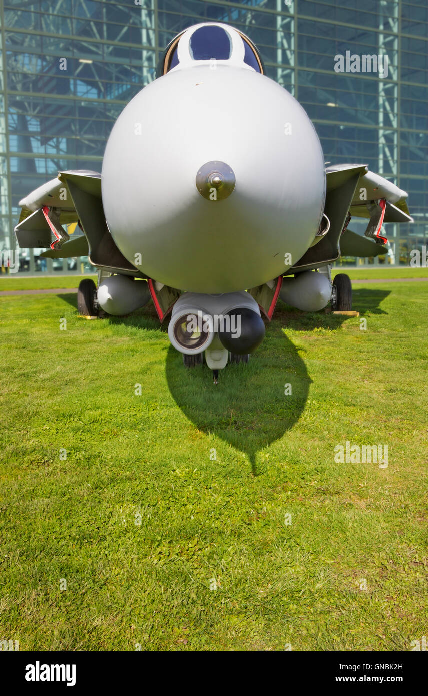Front Profile Jet Fighter - Stock Image