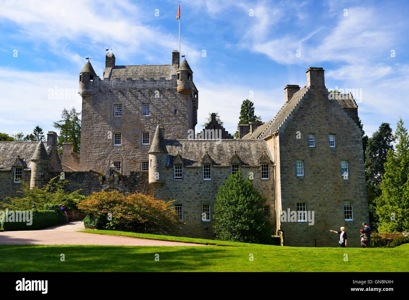 Cawdor Castle near Nairn in Inverness-shire, Scotland - Stock Image