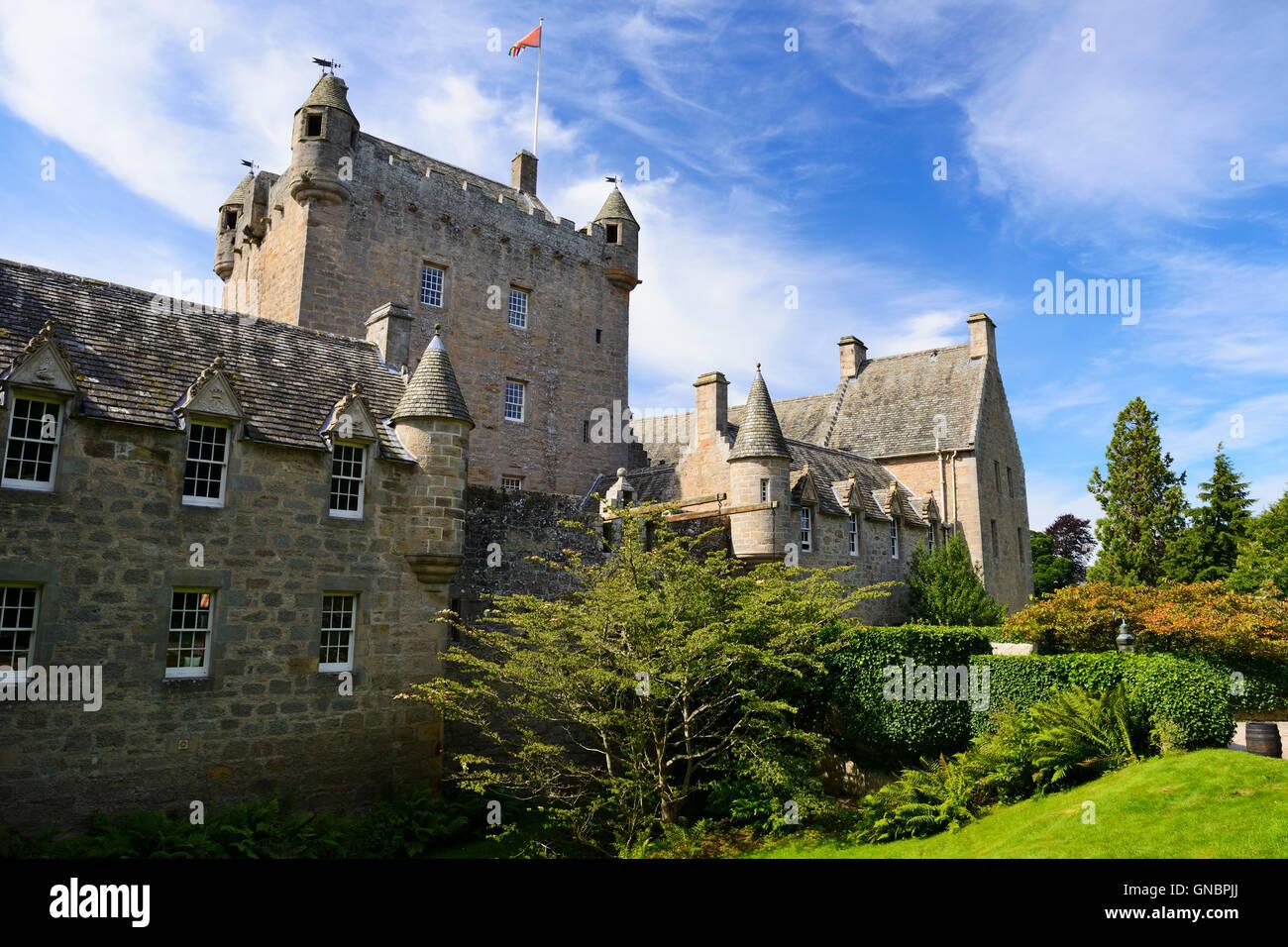 Cawdor Castle near Nairn in Inverness shire, Scotland - Stock Image
