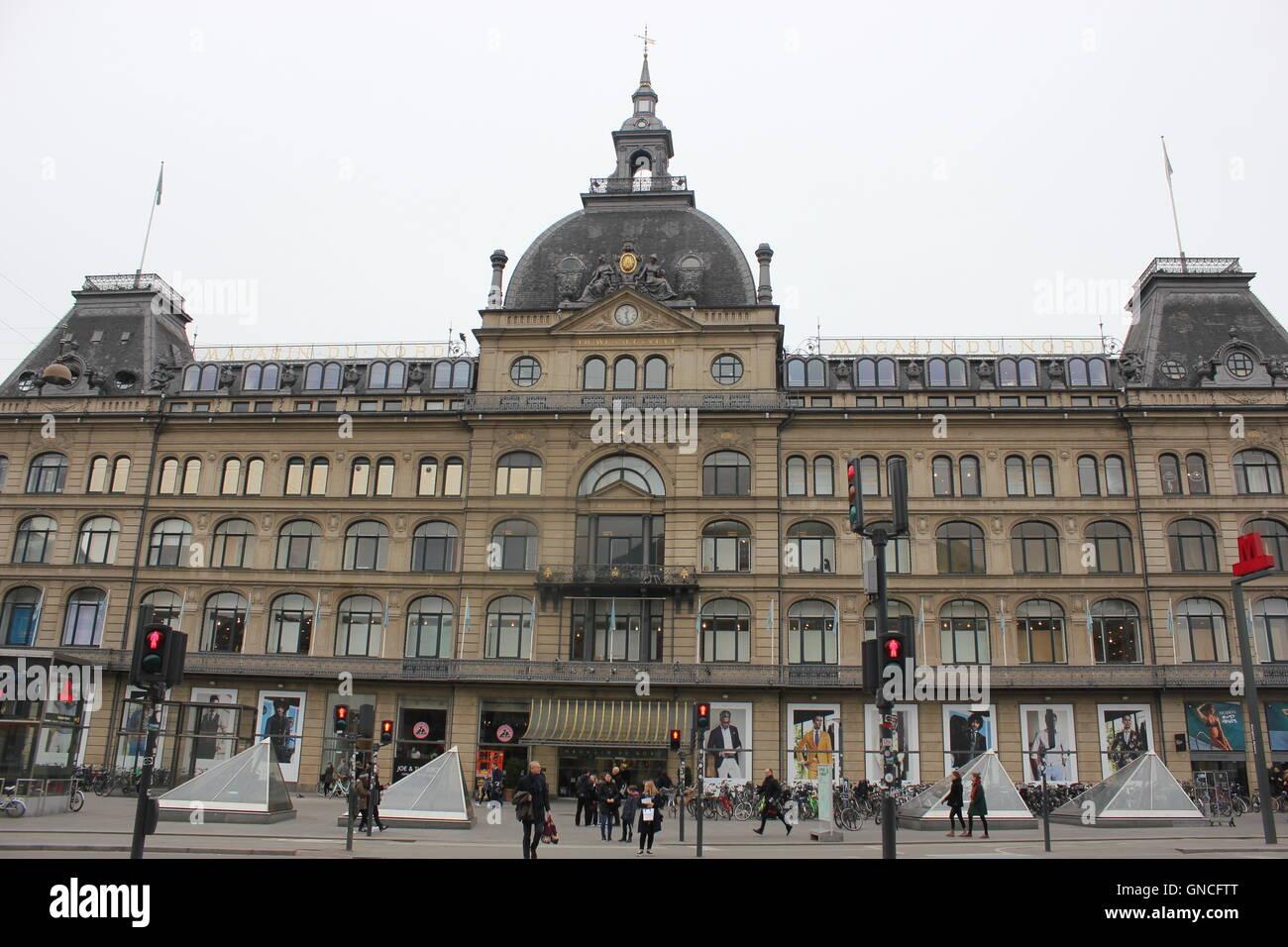 Magasin du Nord in Copenhagen, Denmark - Stock Image