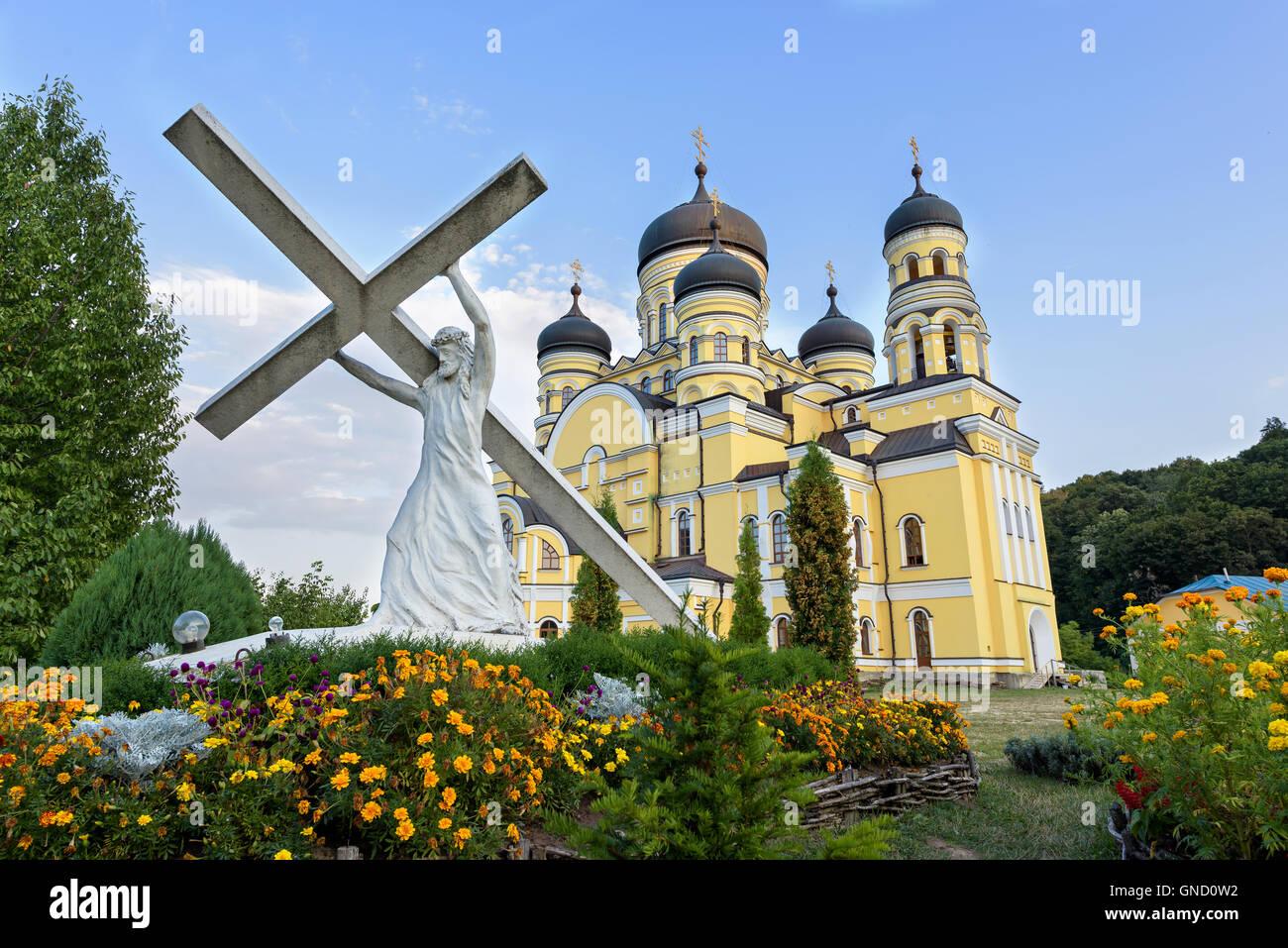 Photo of Hancu Monastery in Moldova - Stock Image