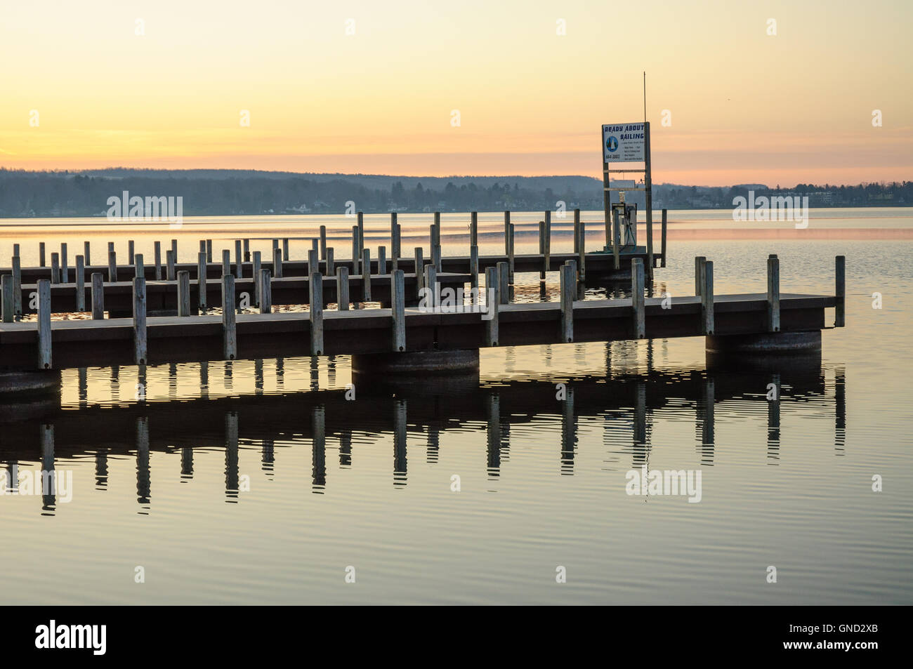 Long Point State Park - Stock Image
