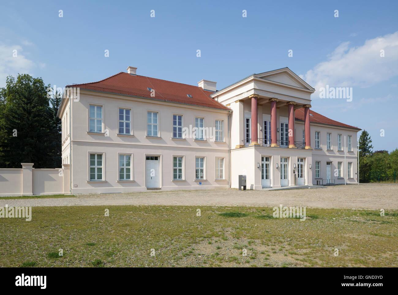 Kavaliershaus on the Schlossberg, Neustrelitz, Mecklenburg-Vorpommern, Germany Stock Photo