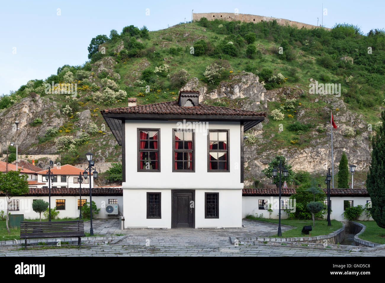 League of Prizren building, Kosovo - Stock Image