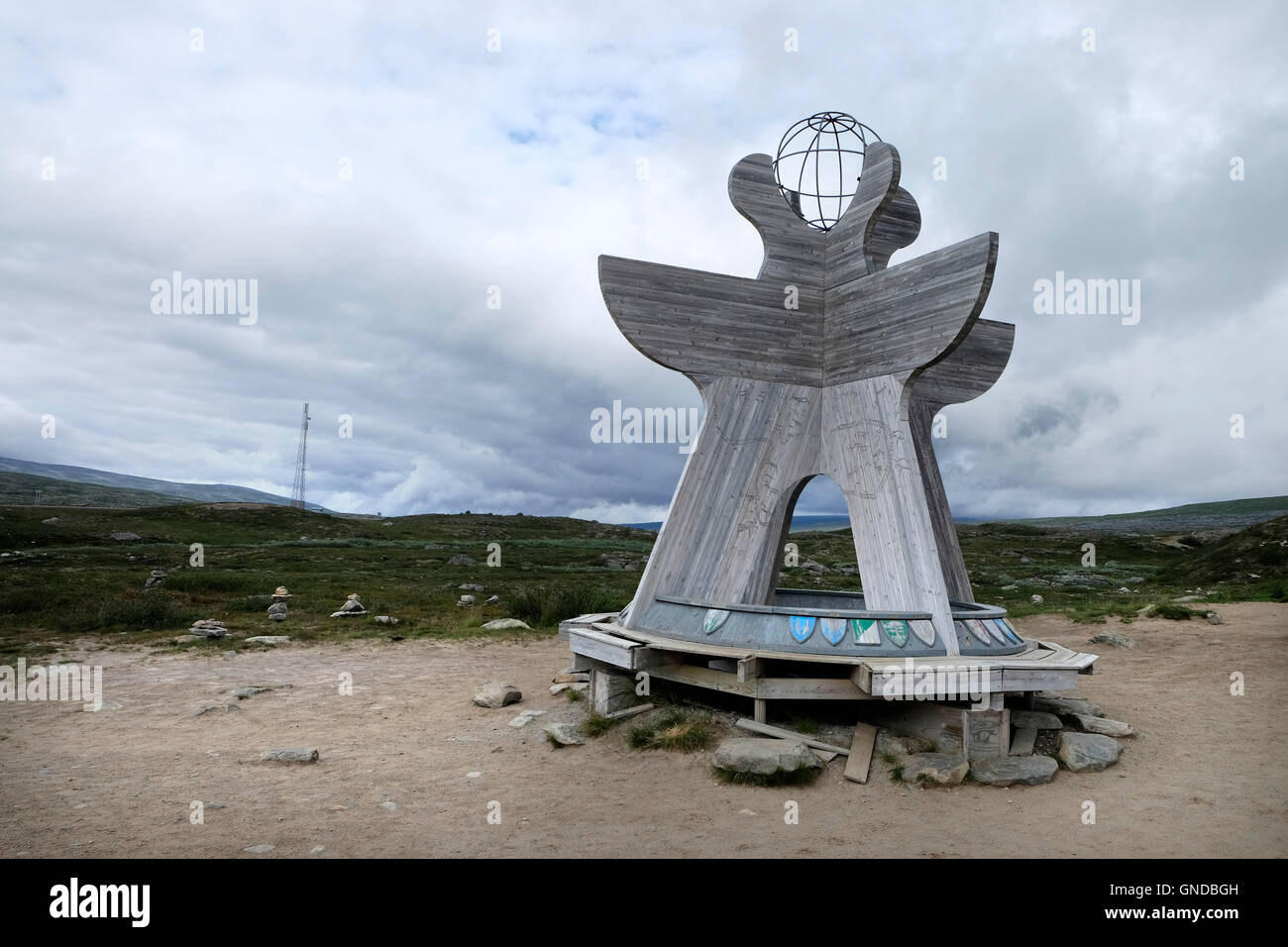 Norway, Artic Circle Stock Photo