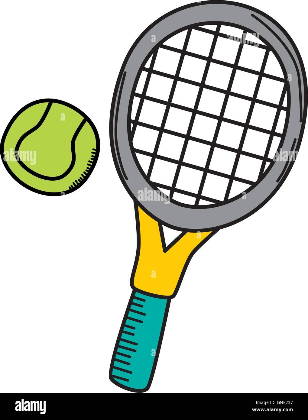 Tennis Cartoon Stock Photos Tennis Cartoon Stock Images Alamy