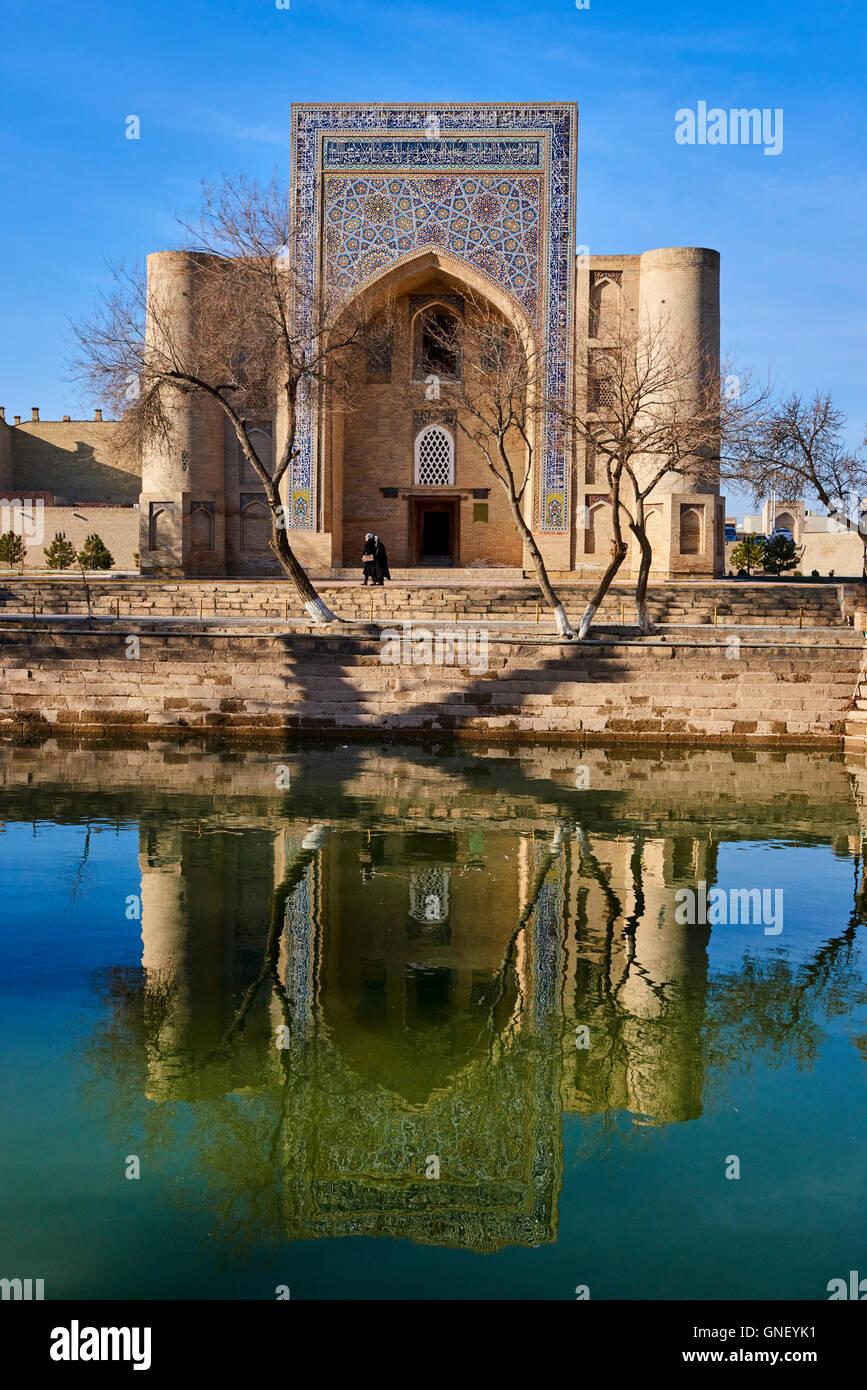 Uzbekistan, Bukhara, Unesco world heritage, Khanaka Nadir Divanbegi, sufi complexe - Stock Image