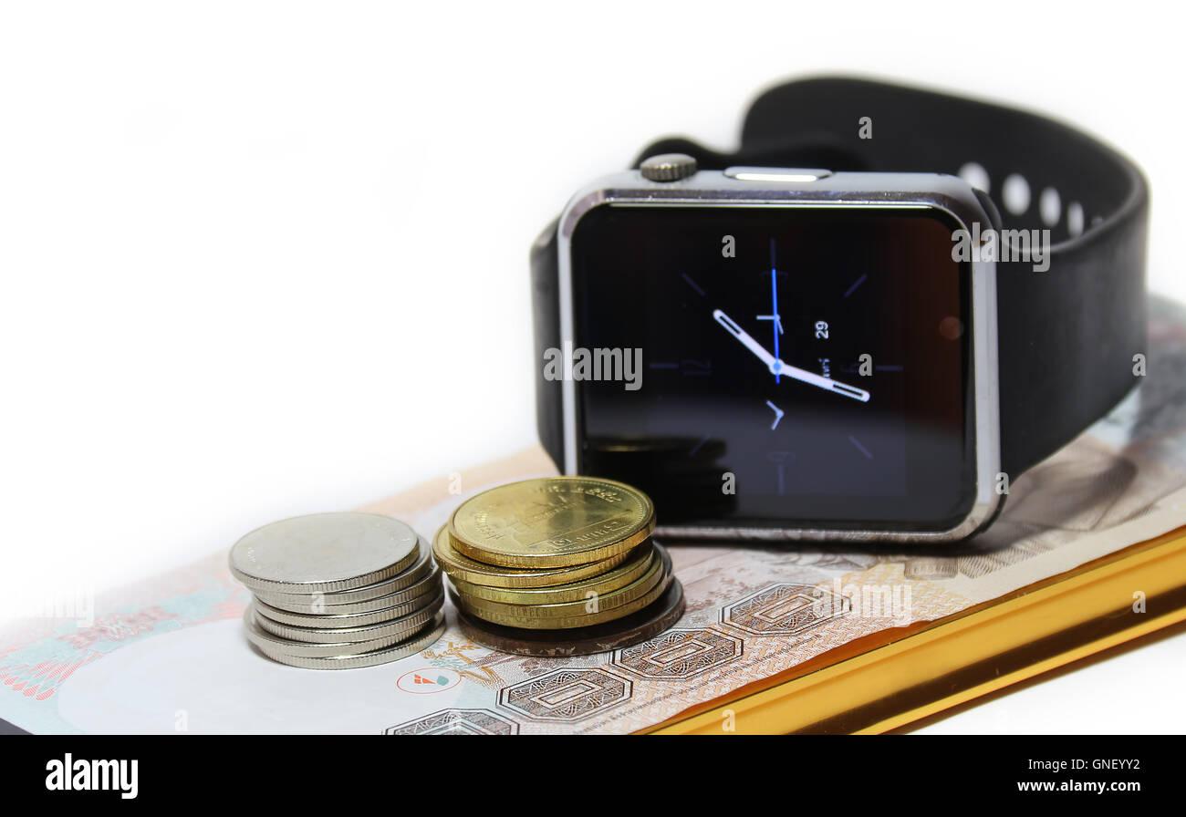 Money Watch what people seek Stock Photo