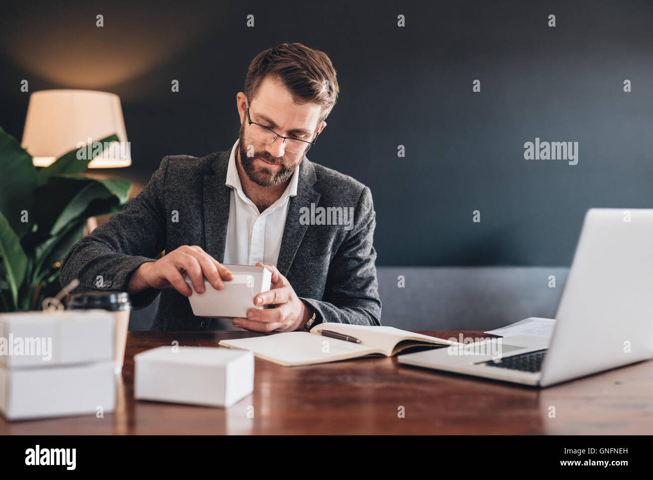 Even small items need special care - Stock Image