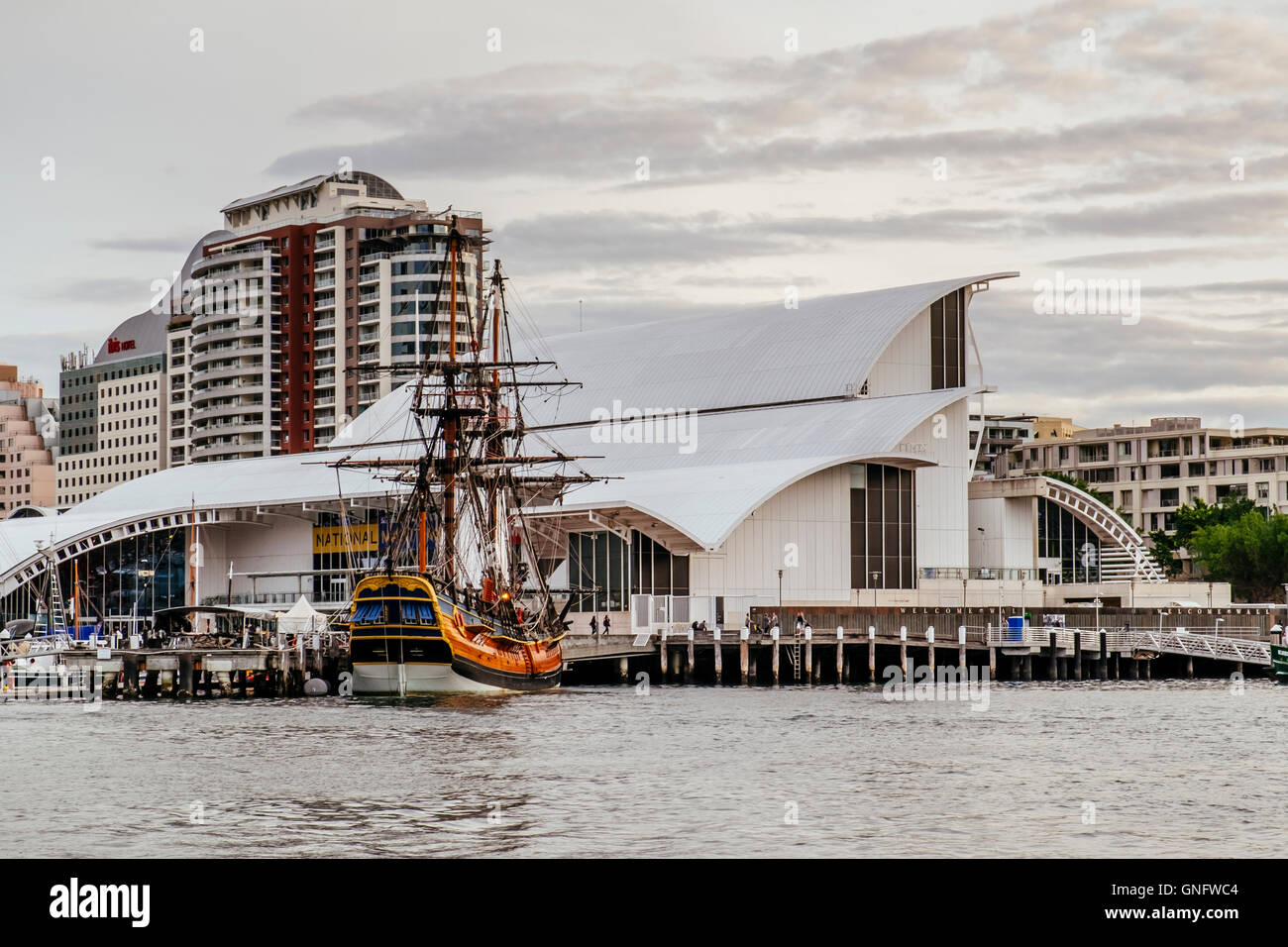 National Maritime Museum, Darling Harbour, Sydney, New South Wales, Australia - Stock Image