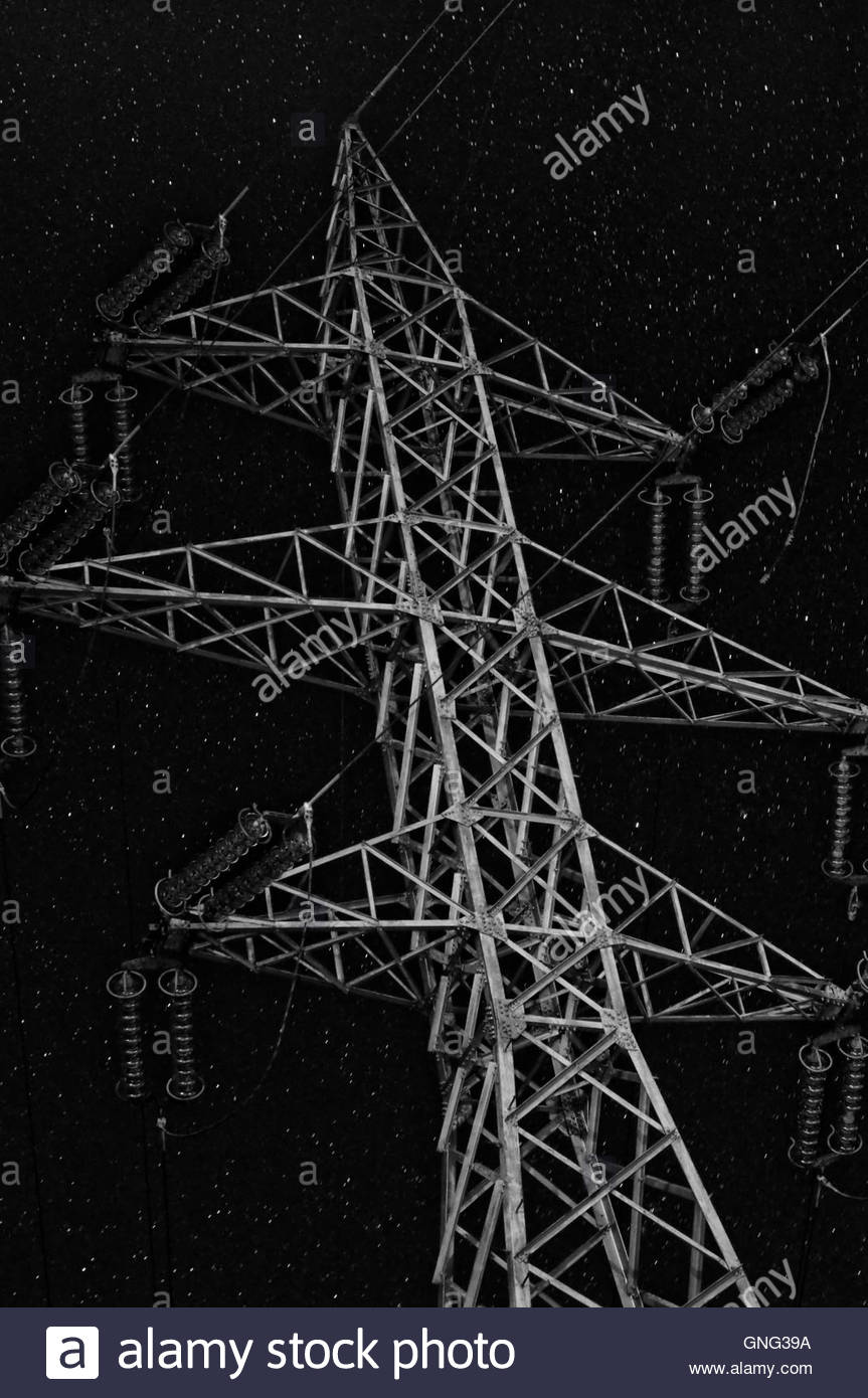 High voltage - Stock Image