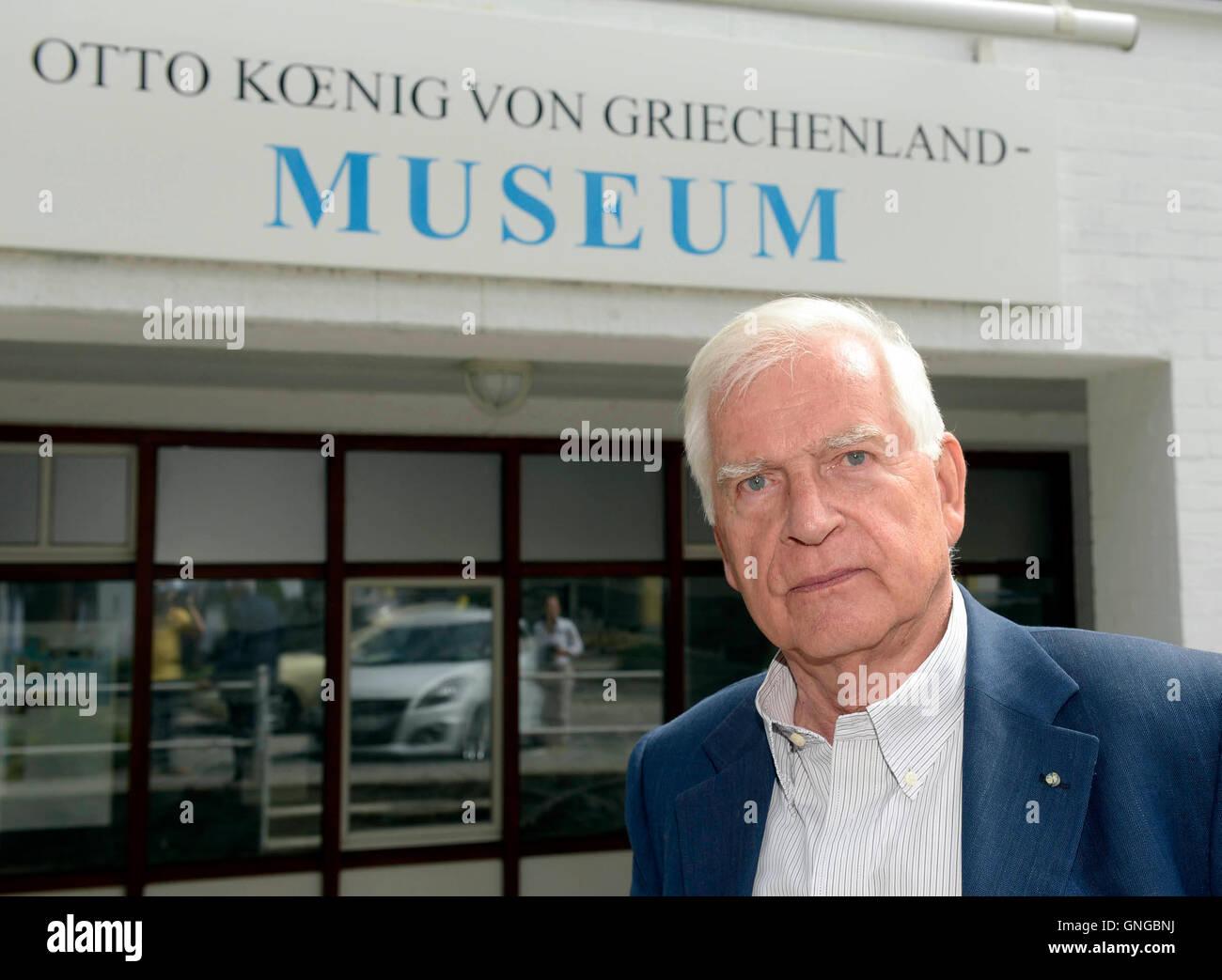 'The ''Otto Koenig von Griechenland Museum'' in Ottobrunn, 2014' - Stock Image