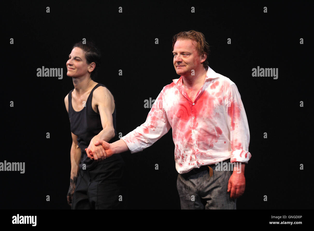 'Premiere of ''Faust'' at the Residenz Theater in Munich, 2014' - Stock Image