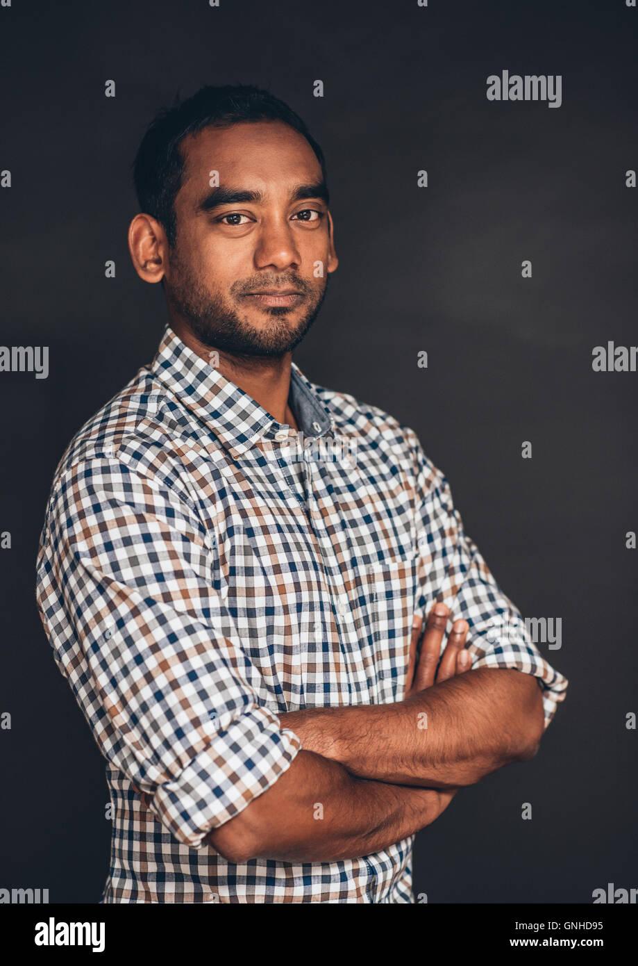 Portrait of entrepreneurial spirit - Stock Image