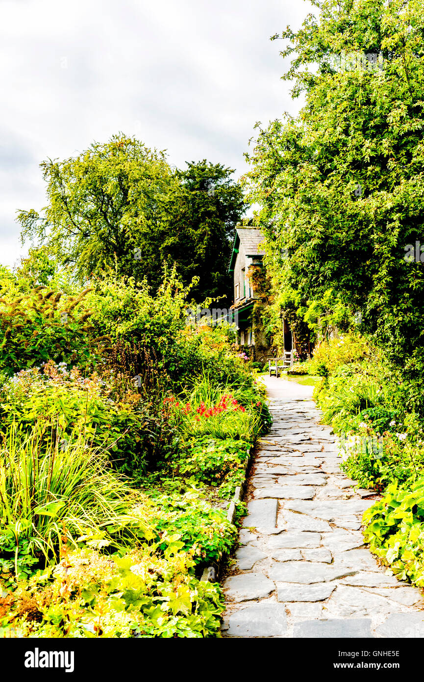 Hilltop, Anwesen von Beatrix Potter; Home of Beatrix Potter Stock Photo