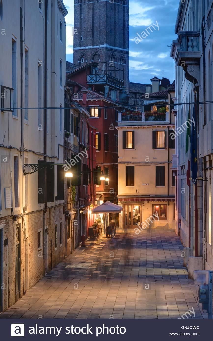 Venedig, Abendstimmung - Stock Image