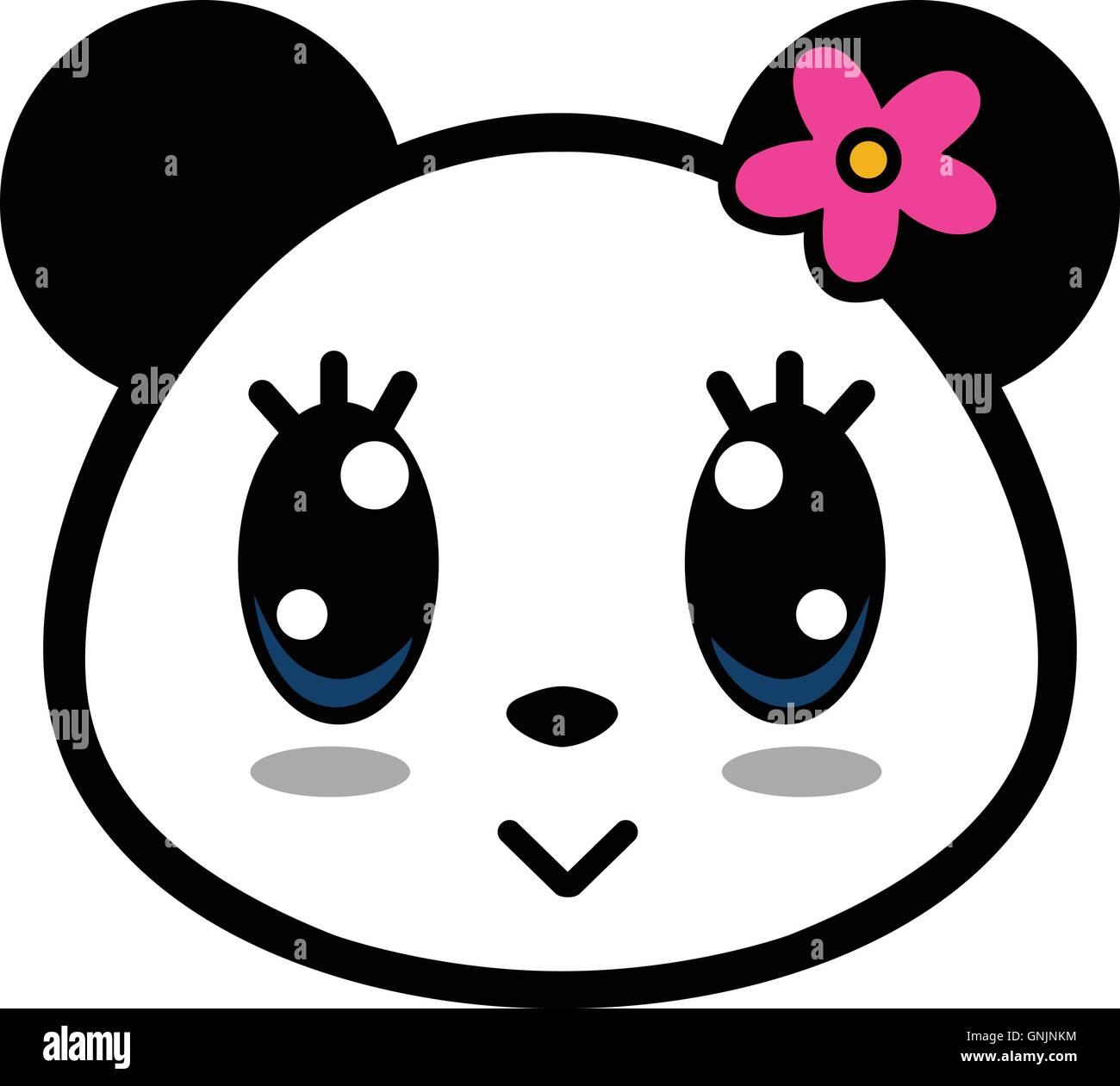 Cute Panda Girl Cartoon Stock Photos Amp Cute Panda Girl