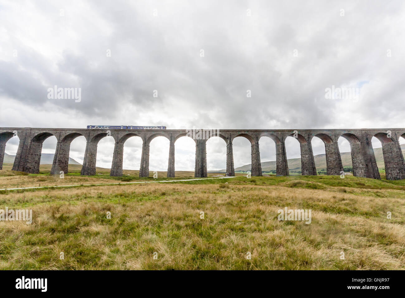 Ribblehead Viaduct, Yorkshire Dales National Park, UK - Stock Image