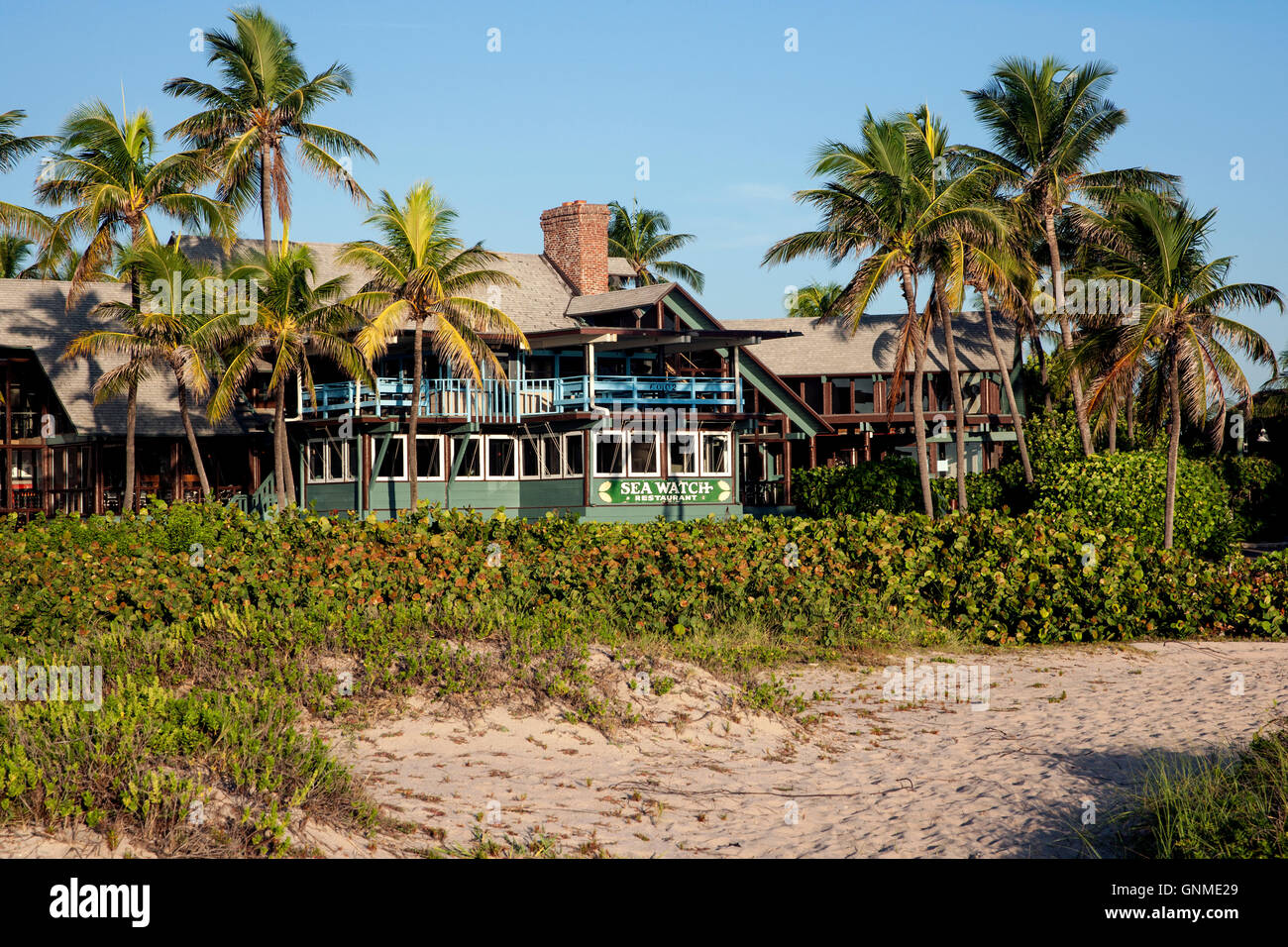SeaWatch on the Ocean Restaurant - Fort Lauderdale, Florida, USA Stock Photo