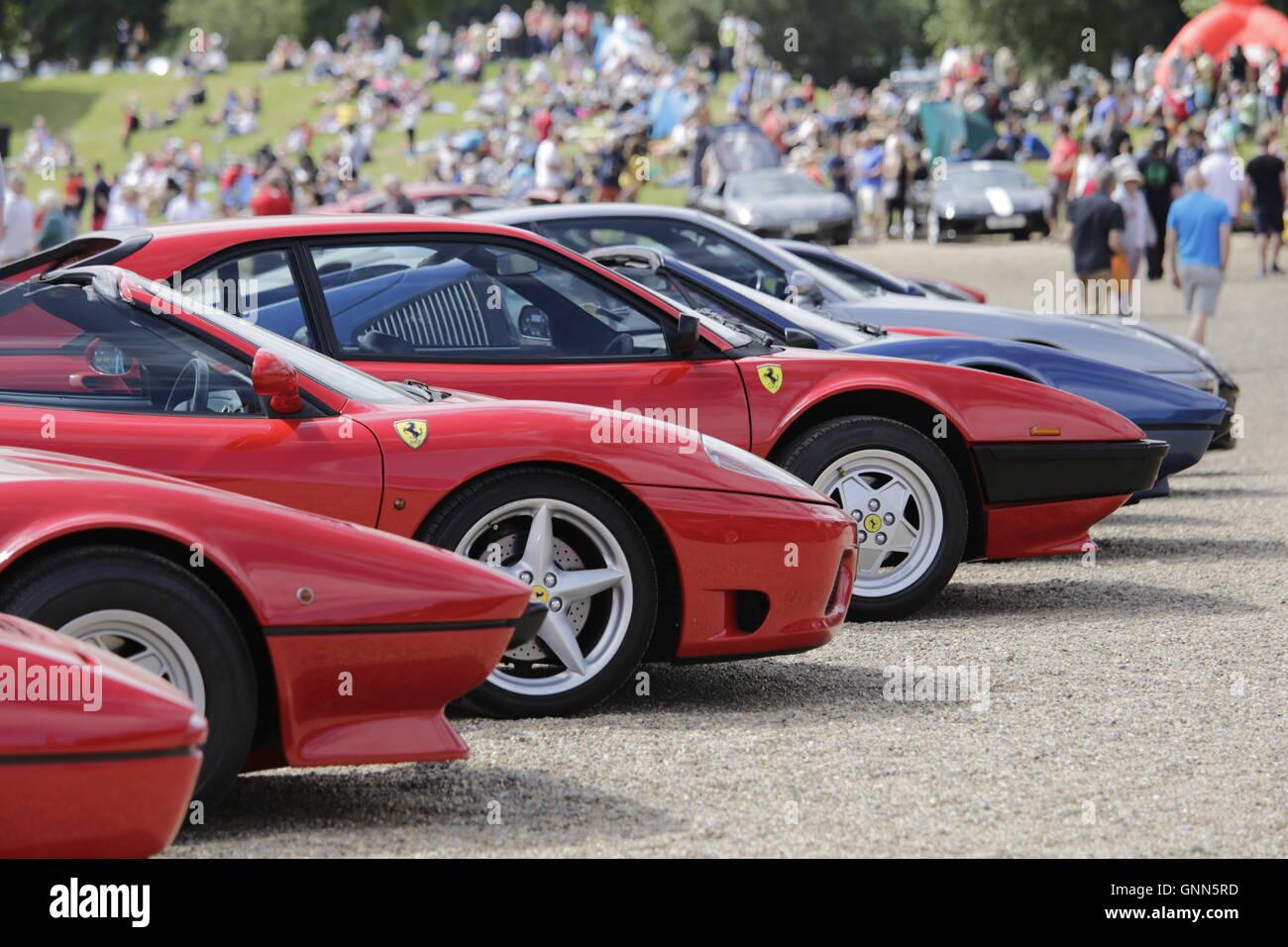 Festival Italia, Brands Hatch - Stock Image