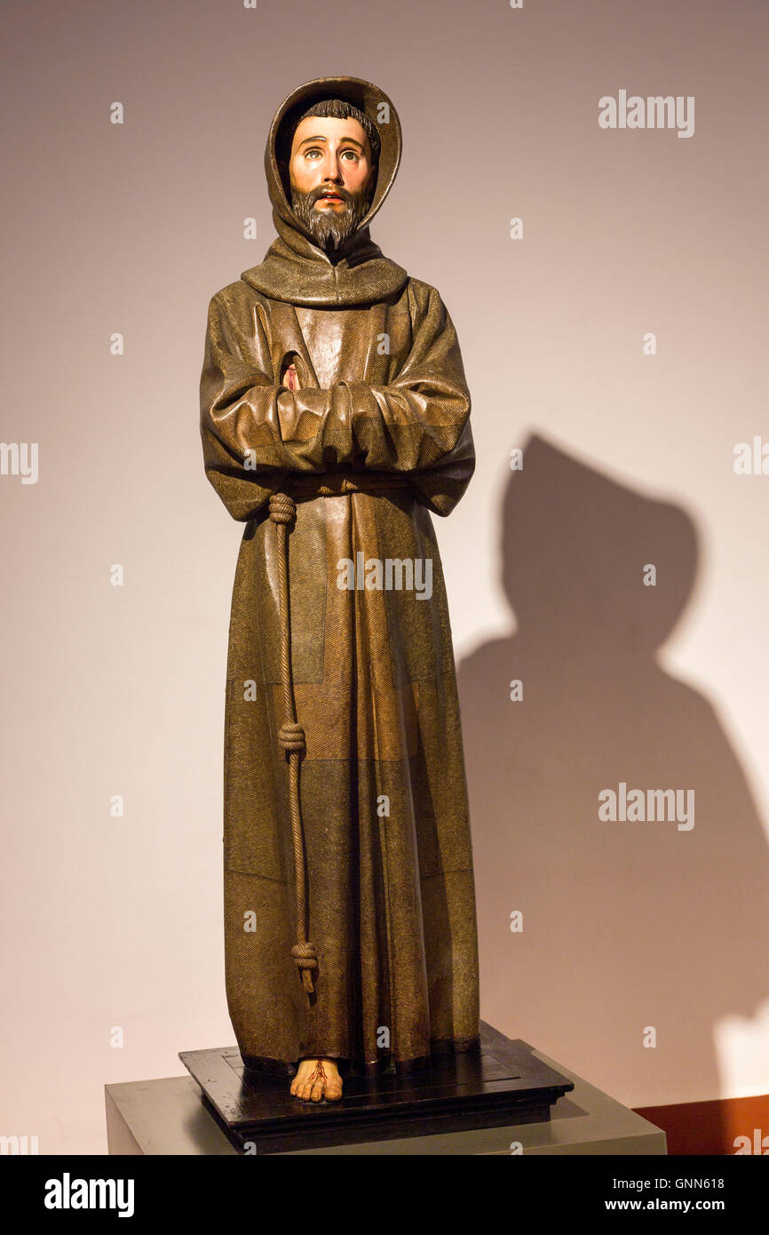 c9e83f7eb83b75 Sculpture of St Francisco de Asis