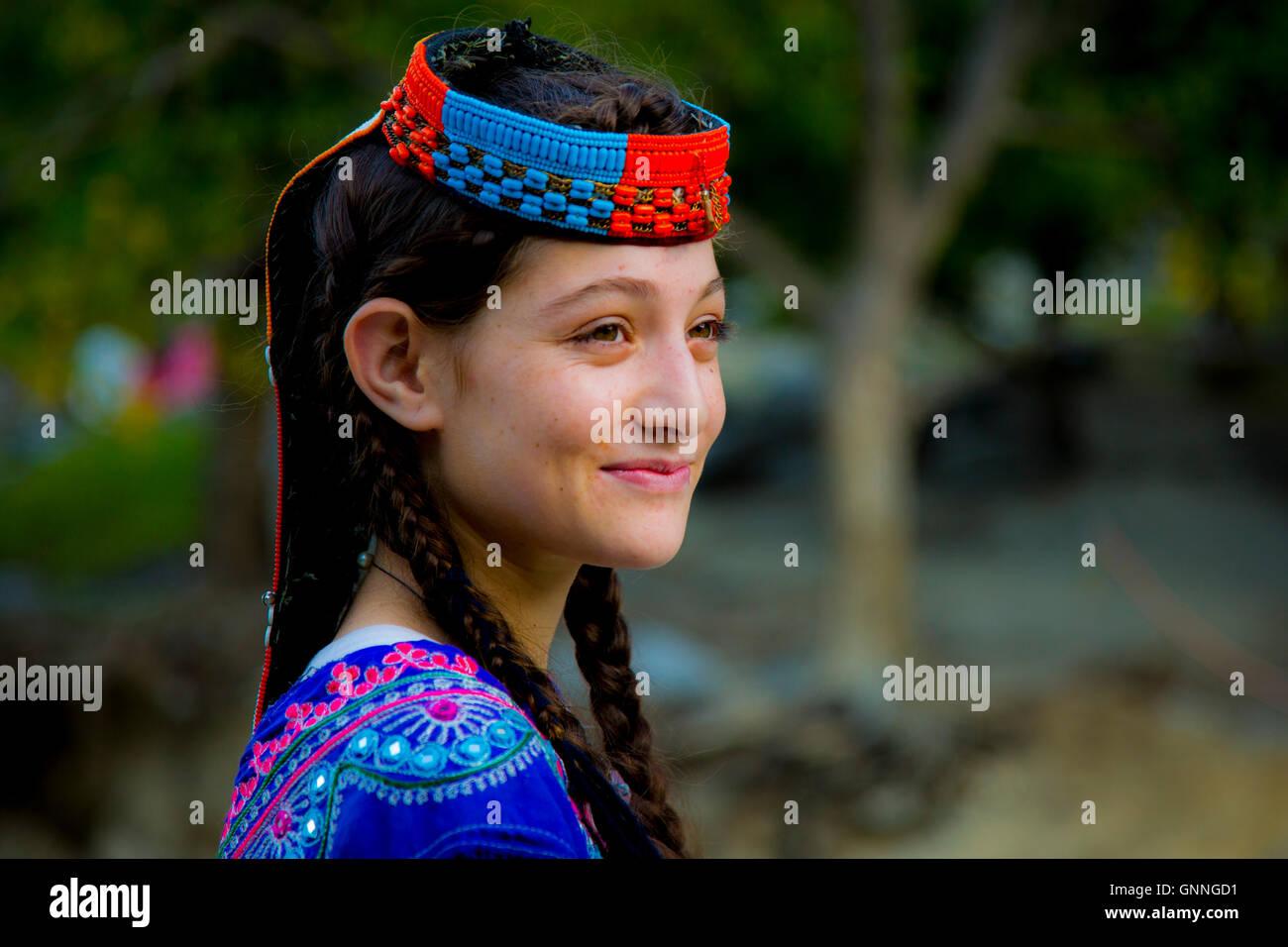 Chitrali girl photo
