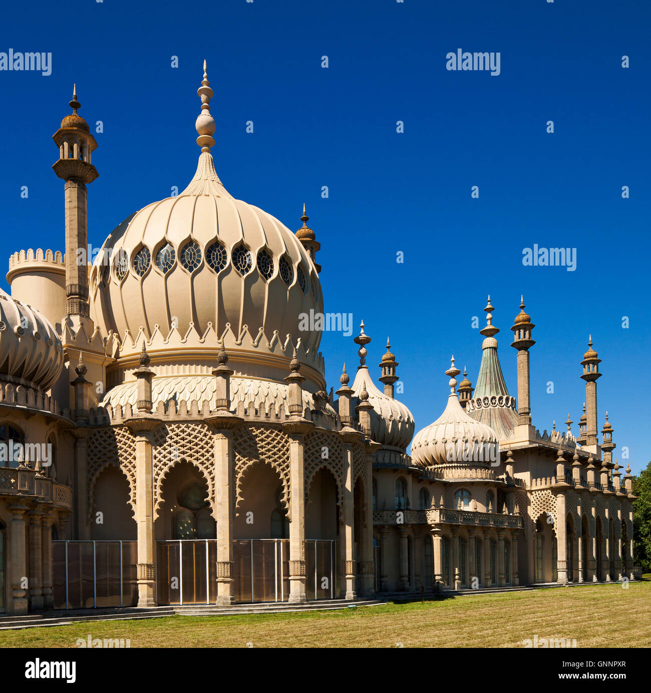 The Royal Pavilion Brighton. - Stock Image