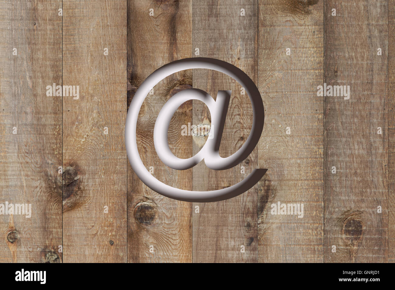 3d Snail Email Address Symbol Stock Photos 3d Snail Email Address