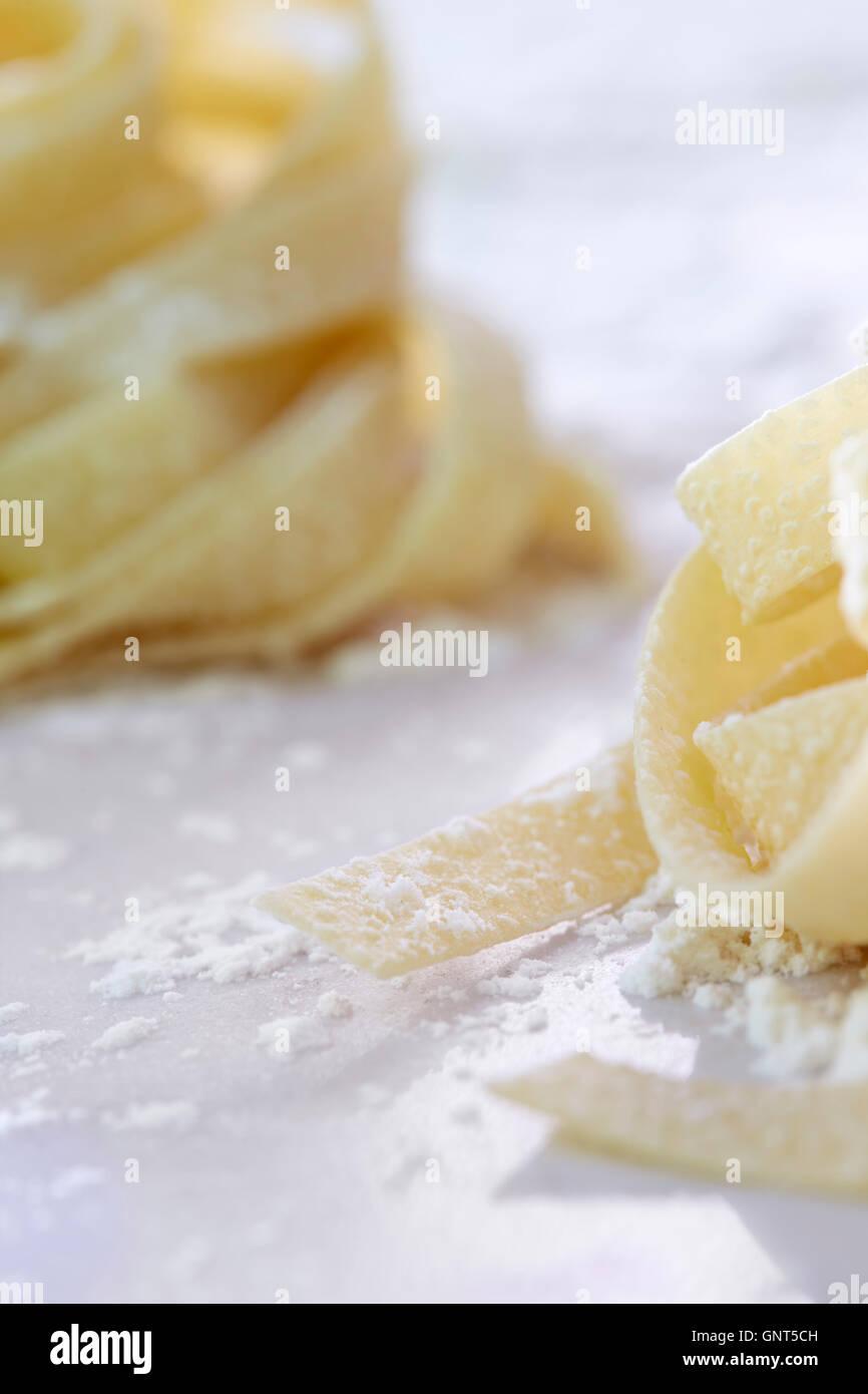 Dried Pasta - Stock Image