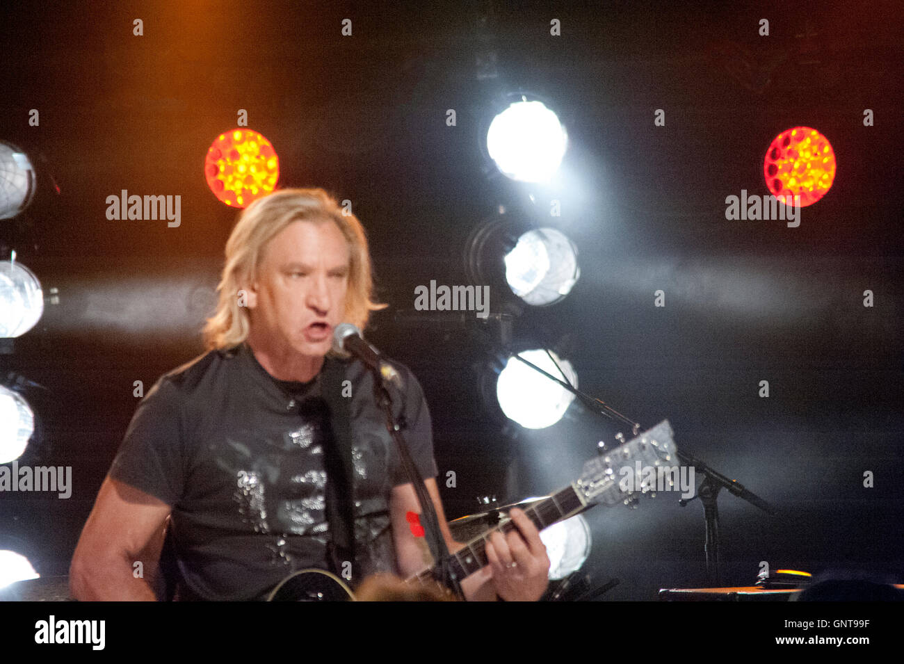 Joe Walsh at Q104 iHeartRadio Theater Presented By P.C. Richard & Son - June 4th, 2012 - Stock Image