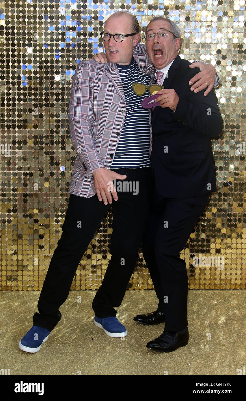 June 29, 2016 - Ade Edmondson and Ben Elton attending World Premiere of  'Absolutely Fabulous: The Movie' - Stock Image