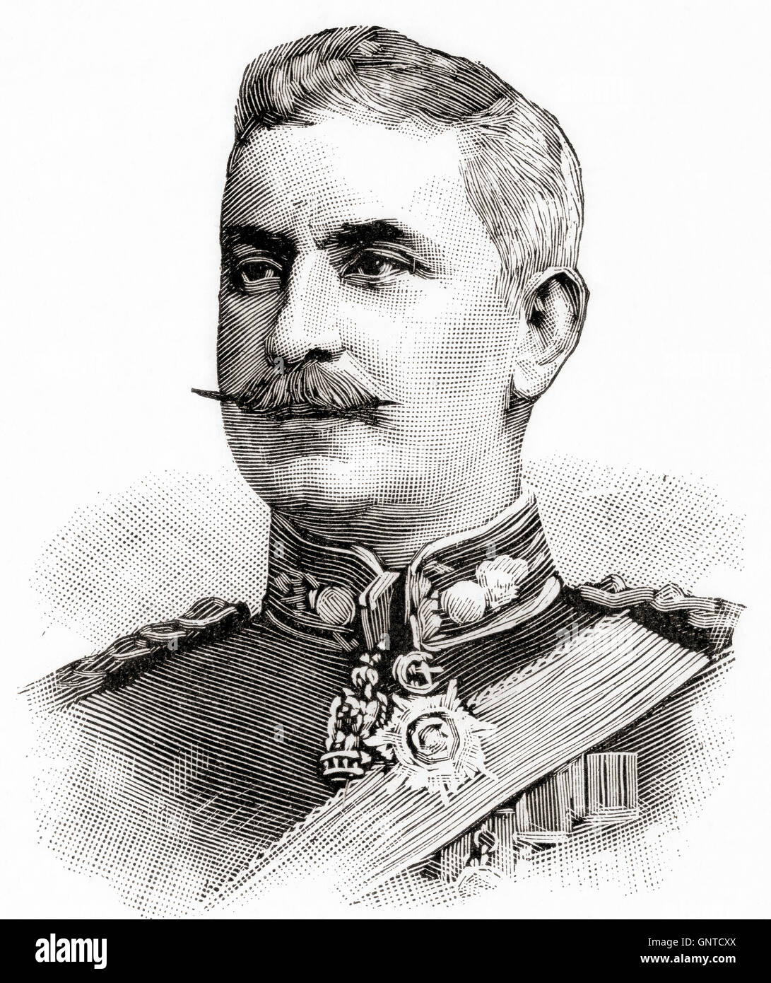 General Sir Francis Reginald Wingate, 1st Baronet, 1861 –  1953.  British general and administrator in Egypt and - Stock Image