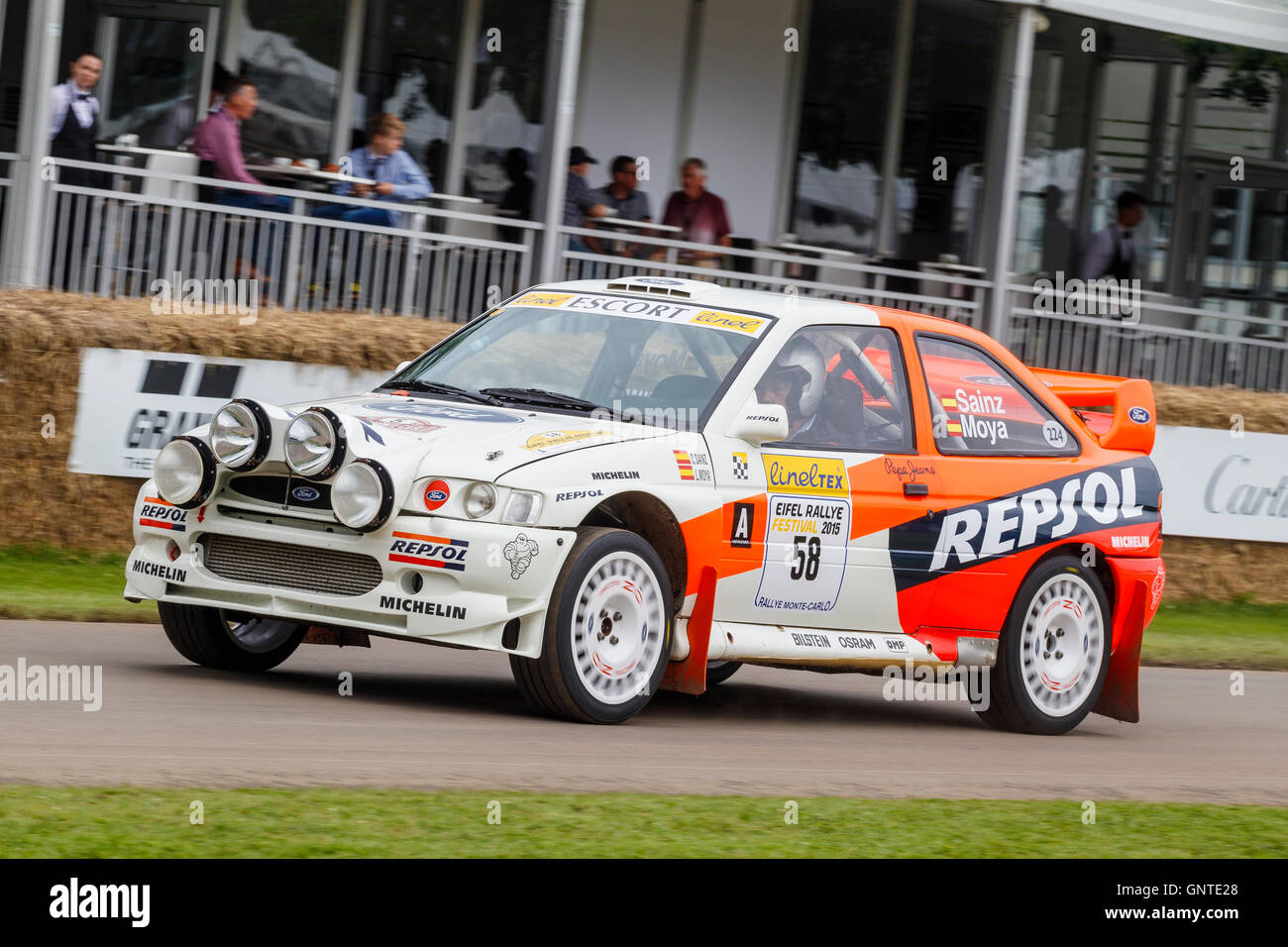 1997 Ford Escort Cosworth Group A WRC at the 2016 Goodwood Festival ...