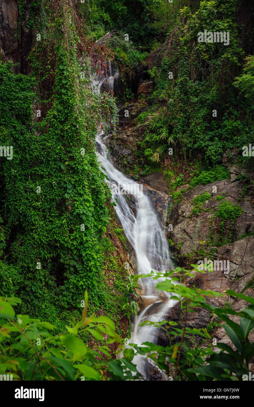 Huay Keaw Waterfall, Doi Suthep National Park, Chiang Mai, Thailand. - Stock Image