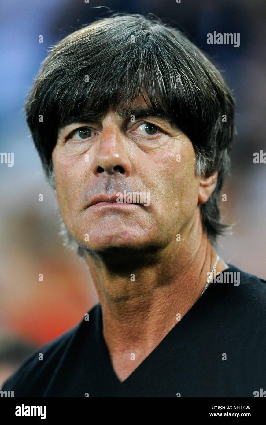 Friendlymatch at  Borussia Park Moenchengladbach, Germany vs Finland; German Nationalcoach Joachim Jogi Loew . - Stock Image