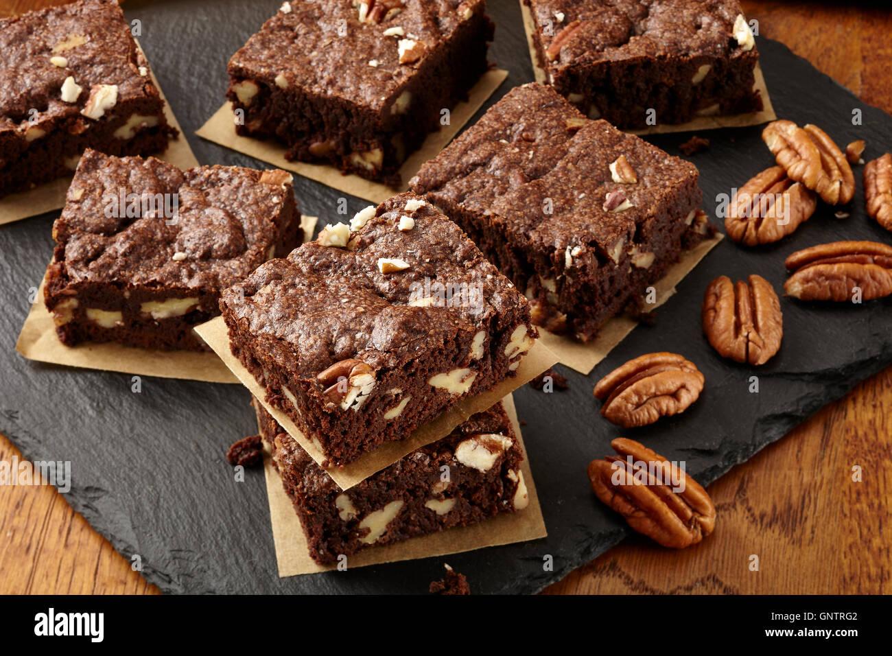 Cinnamon pecan cookies - Stock Image