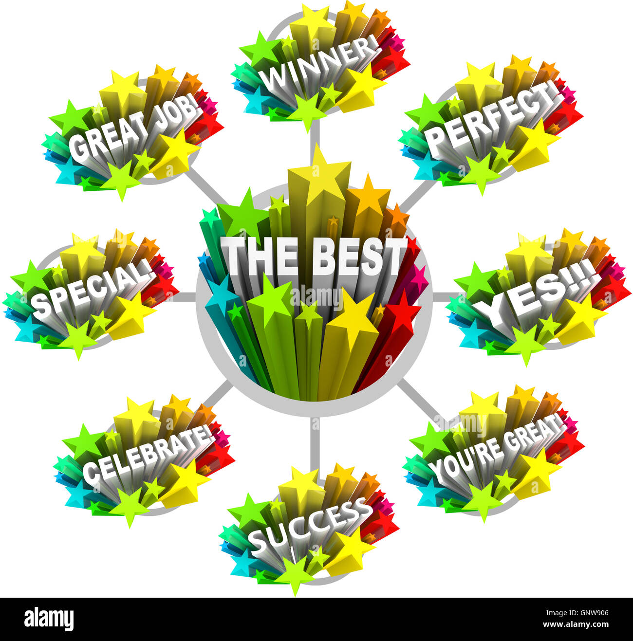 praise and appreciation words for a great job stock photo 116725846